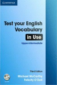 Test eng.vocabulary in use upper-intermed.