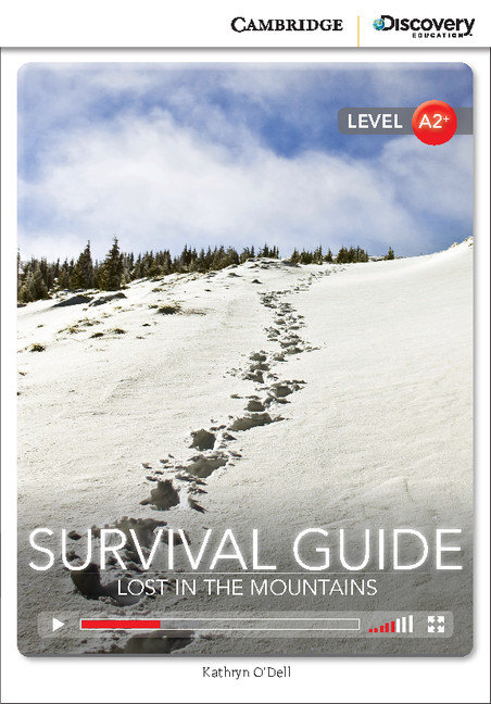 Survival guide: lost in the mountains low intermediate book