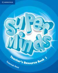 Super minds level 1 teacher's resource book with a