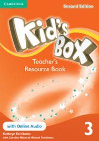 Kid's box level 3 teacher's resource book with onl