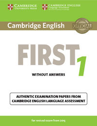 Cambridge first certif.eng.revised 1 st 15