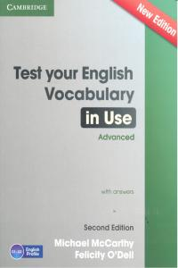 Test your english vocabulary in use advanced second edition