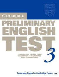 Preliminary for schools 3 st 15 with answers