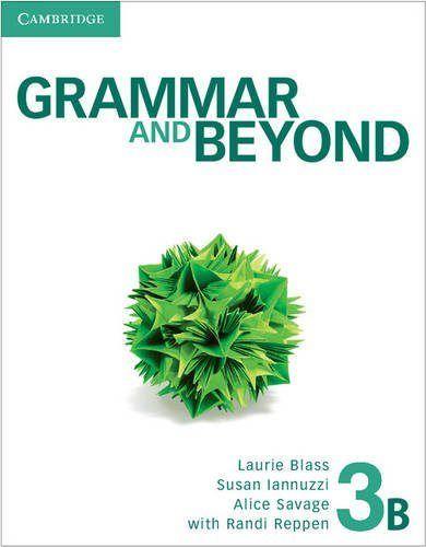 Grammar and beyond 3 sb b/online gram wb/wrt skill inter pk