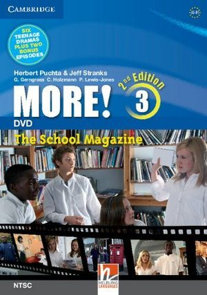 More! level 3 dvd second edition