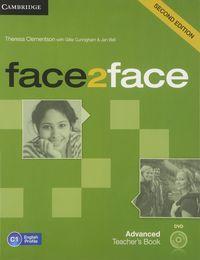 Face 2 face advanced teachers book +dvd 2ªed