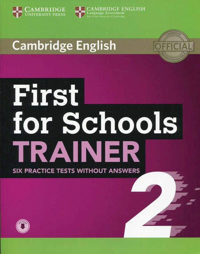 First schools trainer 2ªed.bk pack without key