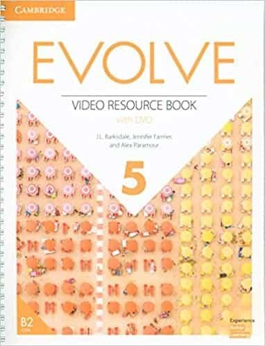 Evolve level 5 video resource book with dvd