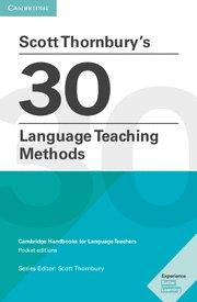 Scott thornbury's 30 language teaching methods. paperback