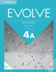 Evolve. workbook with audio. level 4a