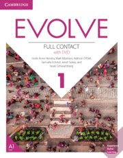 Evolve 1 full contact +dvd