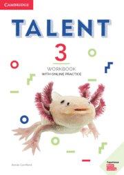 Talent. workbook with online practice. level 3