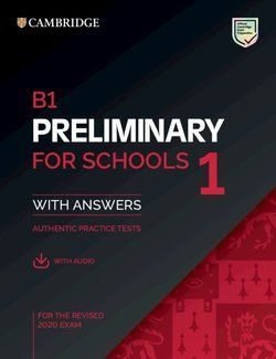 B1 preliminary for schools 1 revised exam from 2020 student