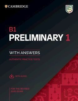 B1 preliminary 1 for revised exam from 2020 students book
