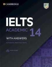 Ielts 14. academic.  student's book with answers with audio