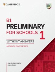 B1 preliminary for schools 1 revised exam from 202