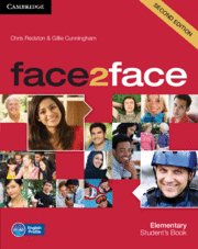 Face2face second edition. student's book. elementary
