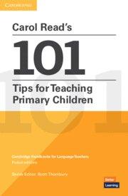 Carol readÆs 101 tips for teaching primary children. paperba