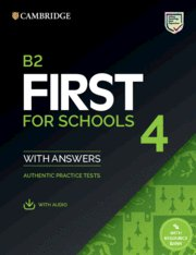 B2 first for schools 4. student's book with answers with aud