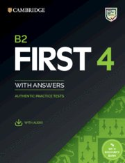 Camb.eng. b2 first 4 st+key+audio+bank 20