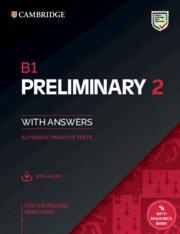 Camb.preliminary 2 b1 sb+key+audio+bank 20