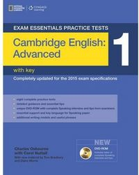 Cambridge cae practice test 1+key+dvdr advanced 14
