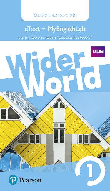 Wider world 1 myenglishlab & ebook students' acces