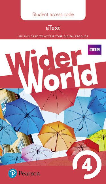 Wider world 4 students' ebook ac