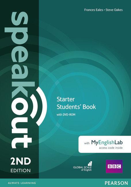 Speakout starter sb dvd and mylab 2ed 16