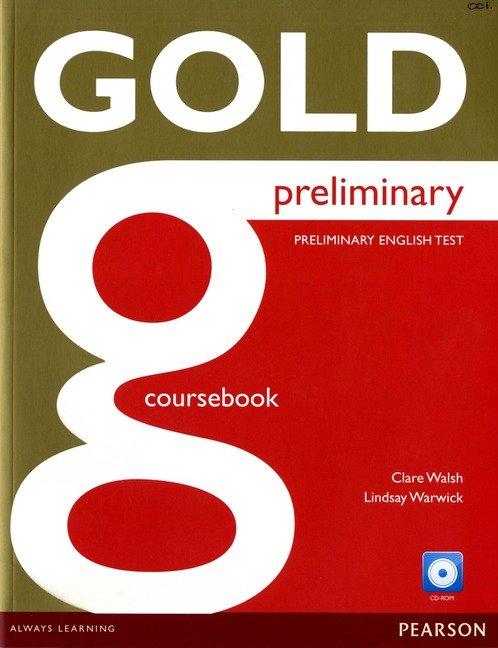 Gold preliminary coursebook cd-rom pk ne