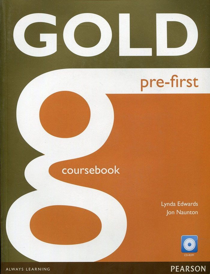 Gold pre-first st +cd-rom 16