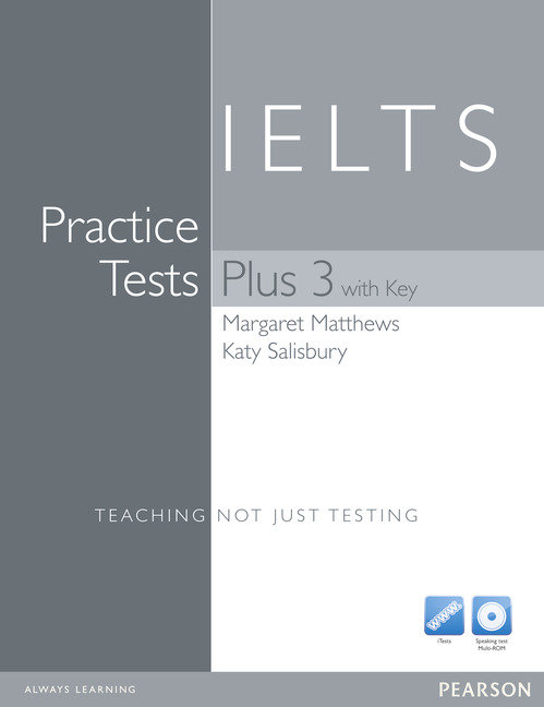 Practice tests plus ielts 3 with key and multi-rom