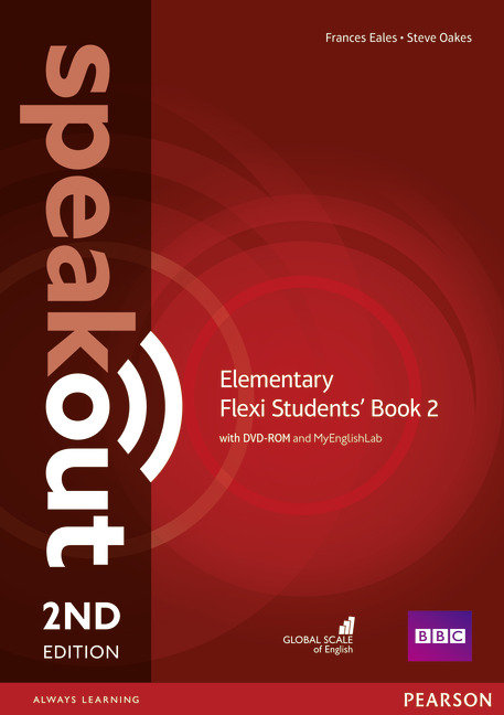 Speakout elementary 2 flexi st. pack 16