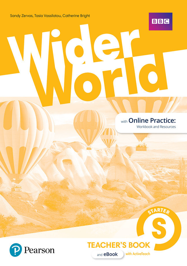Wider world starter teacher's book with codes & dv