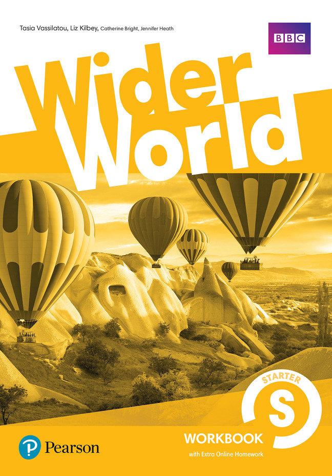 Wider world starter workbook with extra online hom