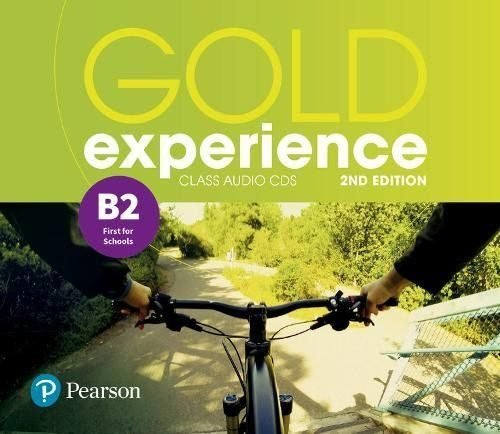 Gold experience b2 class audio cds 18 2ªed