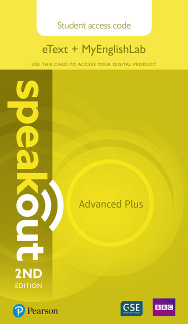 Speakout advanced plus 18 etext myenglishlab acces