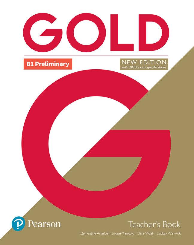 Gold preliminary teacher+dvd pack 19