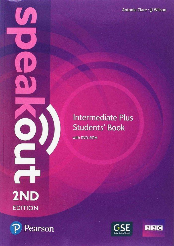 Speakout intermediate plus st+wb+dvd-rom+st.boos.s
