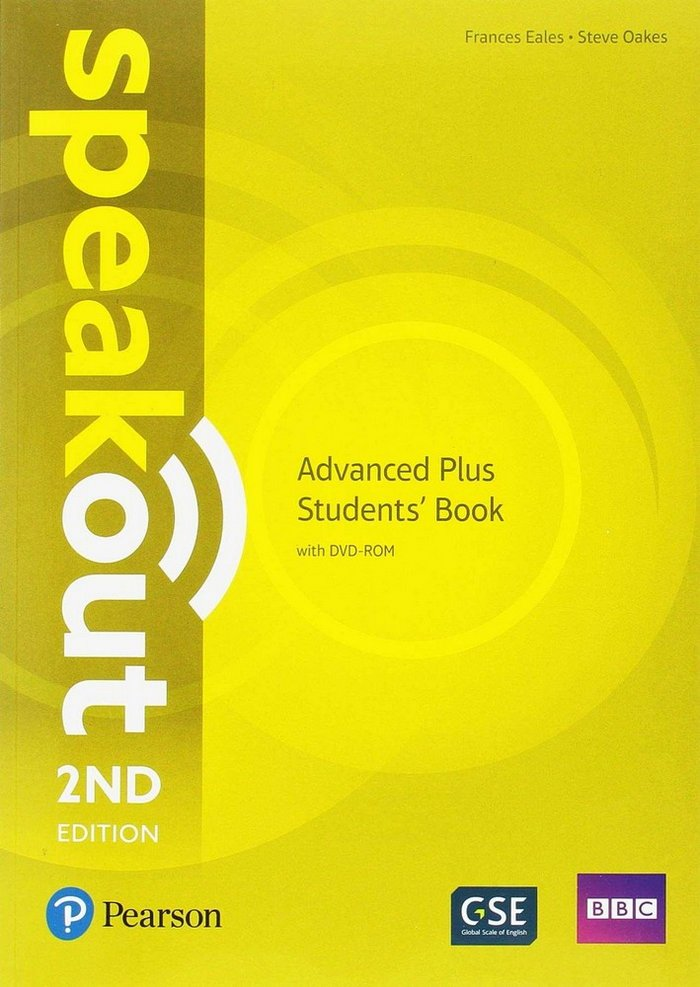 Speakout advanced plus 2nd edition students book/d