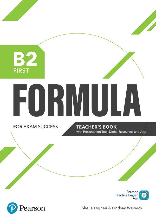 Formula b2 first teacher's book with presentation