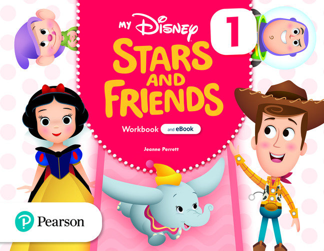 My disney stars and friends 1 3años wb with ebook