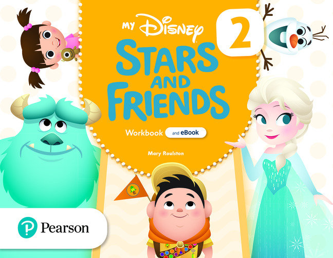 My disney stars and friends 4años 2 wb with ebook
