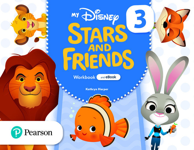 My disney stars and friends 5años 3 wb with ebook