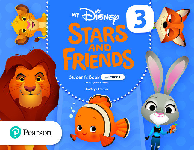 My disney stars and friends 3 5años st and ebook w