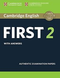 Cambridge first cert.english 2 st with answers rev