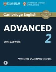 Cambrid.certif. advanced 2 st pack with key 15