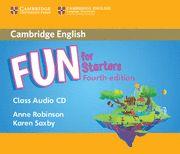Fun for starter class audio cds