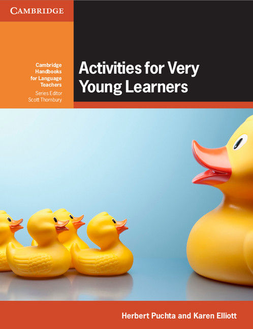 Activities for very young learners book with online resource