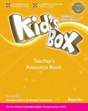 Kid's box starter teacher's resource book with onl
